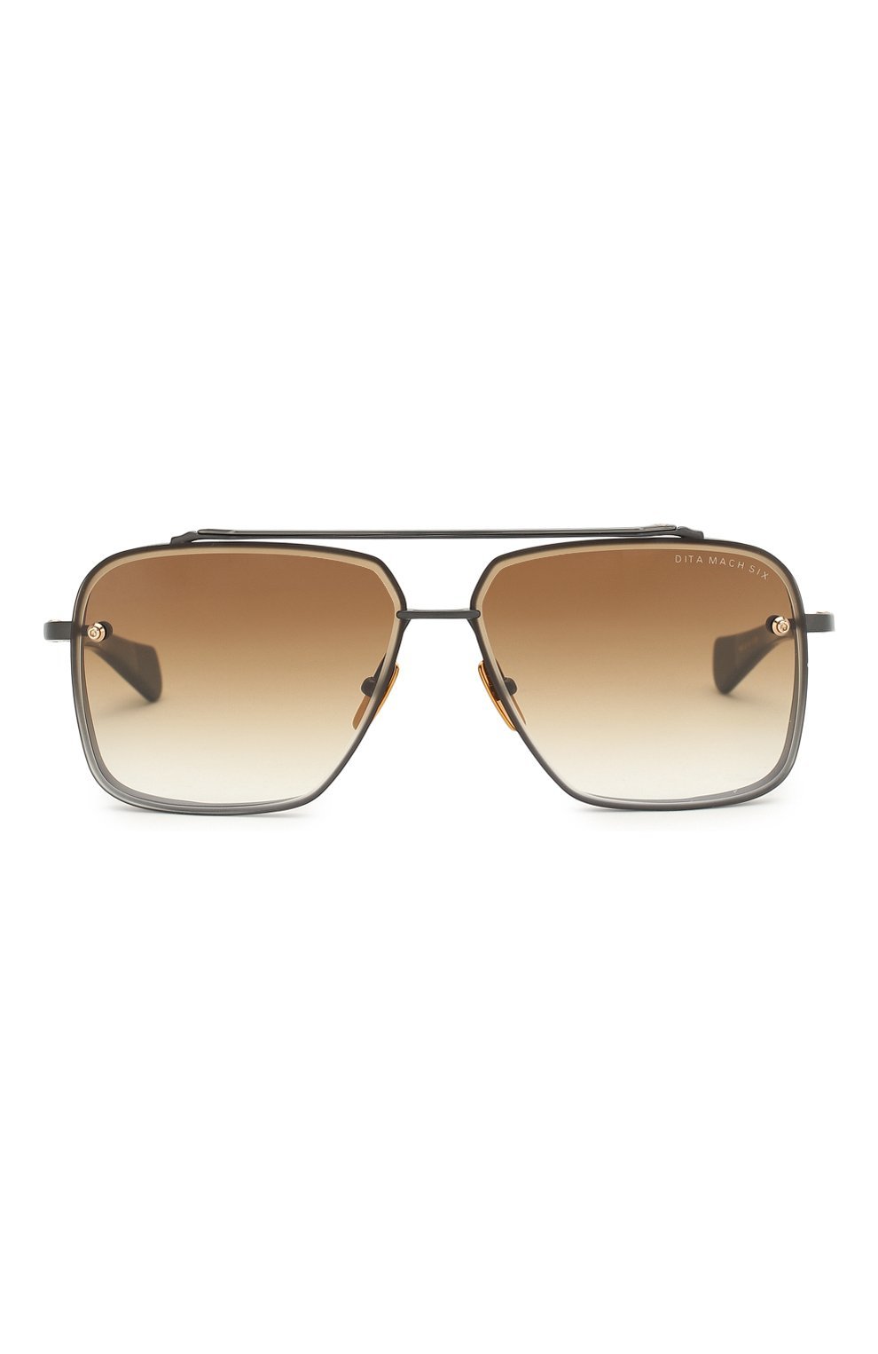 Женские солнцезащитные очки DITA коричневого цвета, арт. MACH-SIX/03 | Фото 3