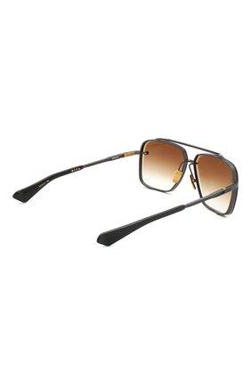 Женские солнцезащитные очки DITA коричневого цвета, арт. MACH-SIX/03 | Фото 4