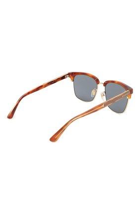 Солнцезащитные очки Gucci синие   Фото №4