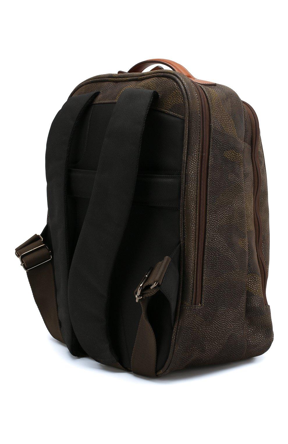 Женский дорожный рюкзак life BRIC`S оливкового цвета, арт. BL8 04658 | Фото 2
