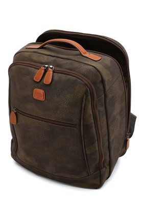 Женский дорожный рюкзак life BRIC`S оливкового цвета, арт. BL8 04658 | Фото 3
