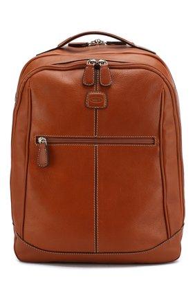 Мужской дорожный рюкзак life BRIC`S светло-коричневого цвета, арт. BPL 04658 | Фото 1