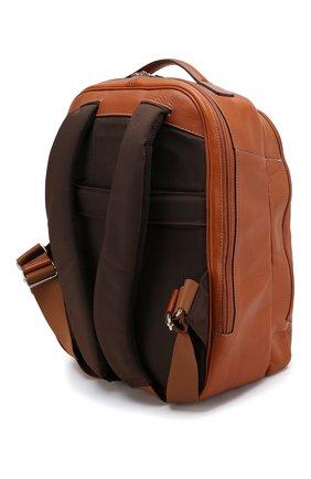 Мужской дорожный рюкзак life BRIC`S светло-коричневого цвета, арт. BPL 04658 | Фото 2