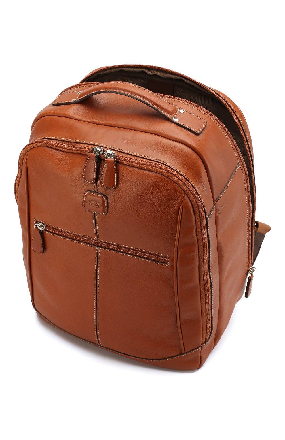 Мужской дорожный рюкзак life BRIC`S светло-коричневого цвета, арт. BPL 04658 | Фото 3