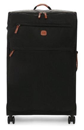 Женский дорожный чемодан x-travel large  BRIC`S черного цвета, арт. BXL48145 | Фото 1