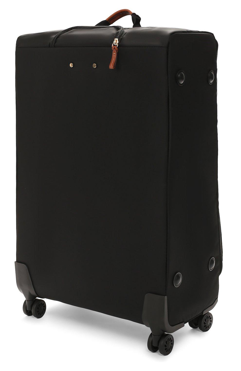 Женский дорожный чемодан x-travel large  BRIC`S черного цвета, арт. BXL48145 | Фото 2