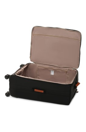 Женский дорожный чемодан x-travel large  BRIC`S черного цвета, арт. BXL48145 | Фото 3