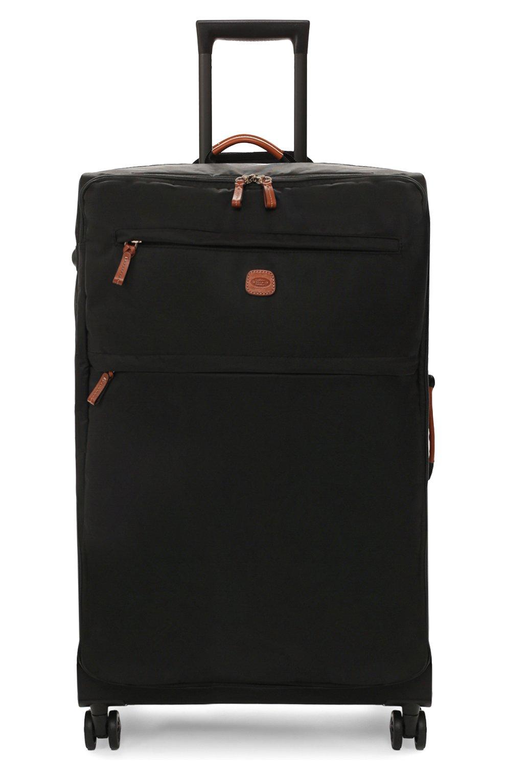 Женский дорожный чемодан x-travel large  BRIC`S черного цвета, арт. BXL48145 | Фото 4