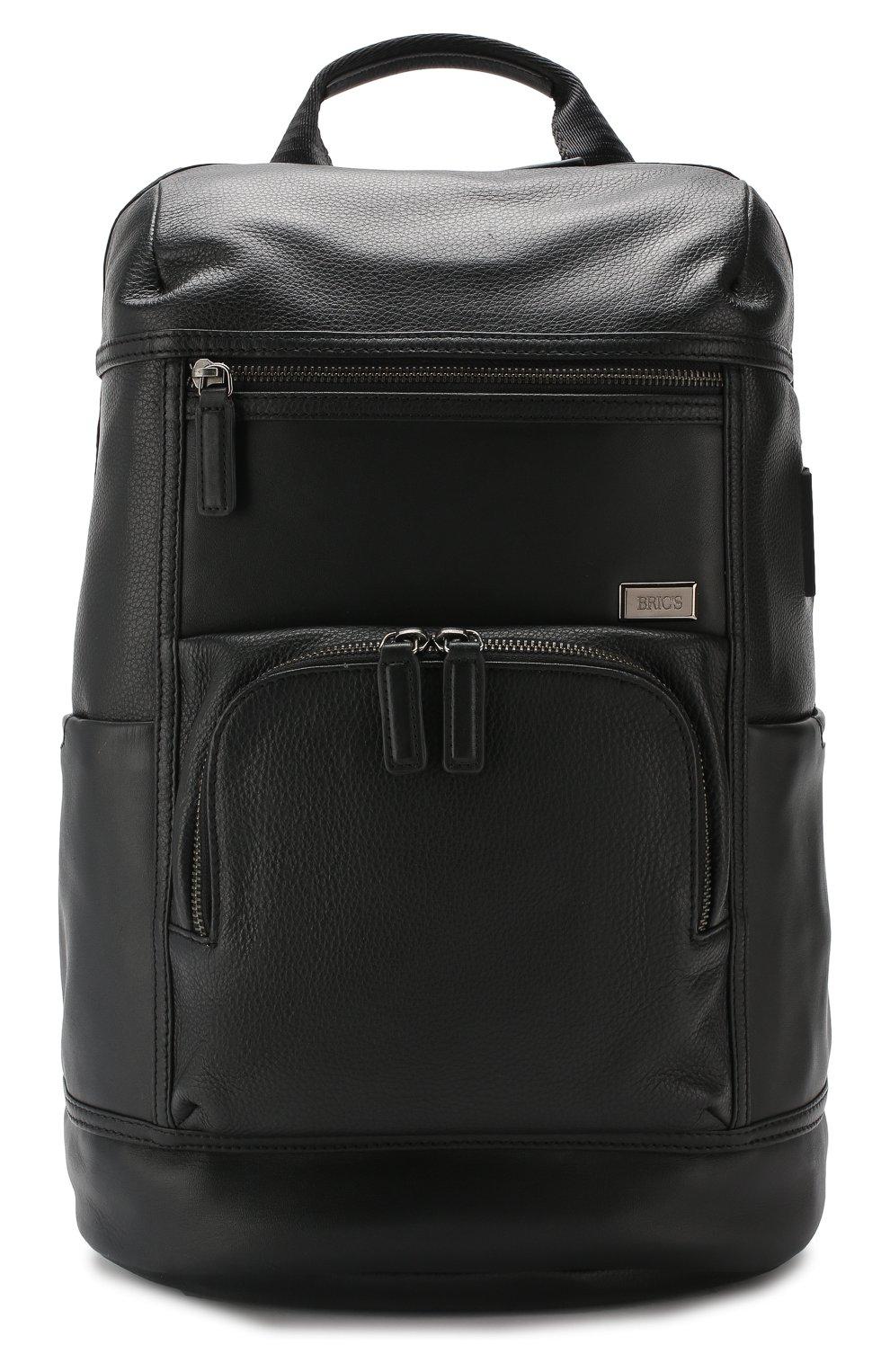 Мужской дорожный рюкзак torino BRIC`S черного цвета, арт. BR107703   Фото 1