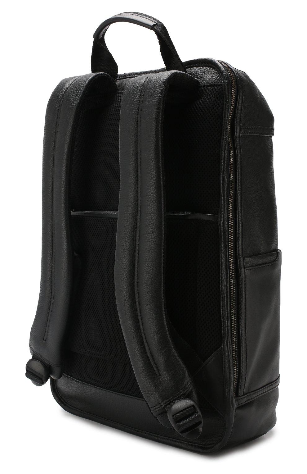 Мужской дорожный рюкзак torino BRIC`S черного цвета, арт. BR107703   Фото 2