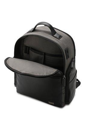 Мужской дорожный рюкзак monza medium BRIC`S серого цвета, арт. BR207702   Фото 3