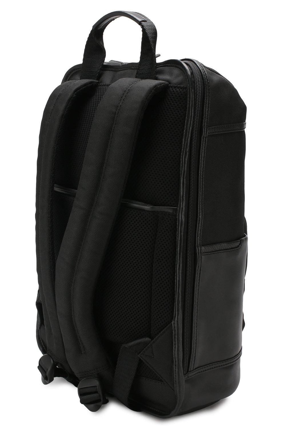 Мужской дорожный рюкзак monza BRIC`S черного цвета, арт. BR207703   Фото 2