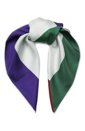Женский шелковый платок l'infinito  LORO PIANA разноцветного цвета, арт. FAI5621 | Фото 1