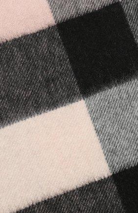 Мужские кашемировый шарф BURBERRY розового цвета, арт. 8015549 | Фото 2