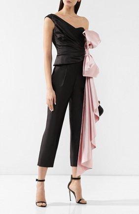 Женские укороченные брюки RASARIO черного цвета, арт. 0014S9_1 | Фото 2