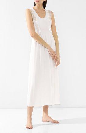 Женская сорочка из вискозы GIANANTONIO PALADINI кремвого цвета, арт. GC02/L | Фото 2