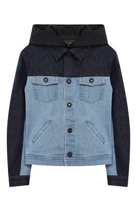 Комплект из куртки и жилета с капюшоном | Фото №2