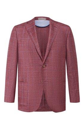 Пиджак из смеси шелка и кашемира   Фото №1