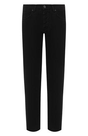 Мужские джинсы 2 MEN JEANS черного цвета, арт. MARC0/U49P5 | Фото 1