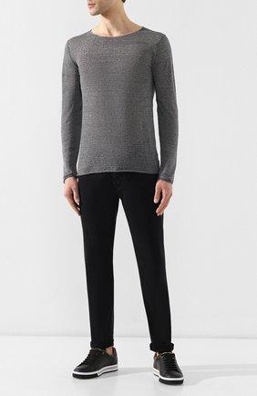 Джинсы 2 Men Jeans черные | Фото №2