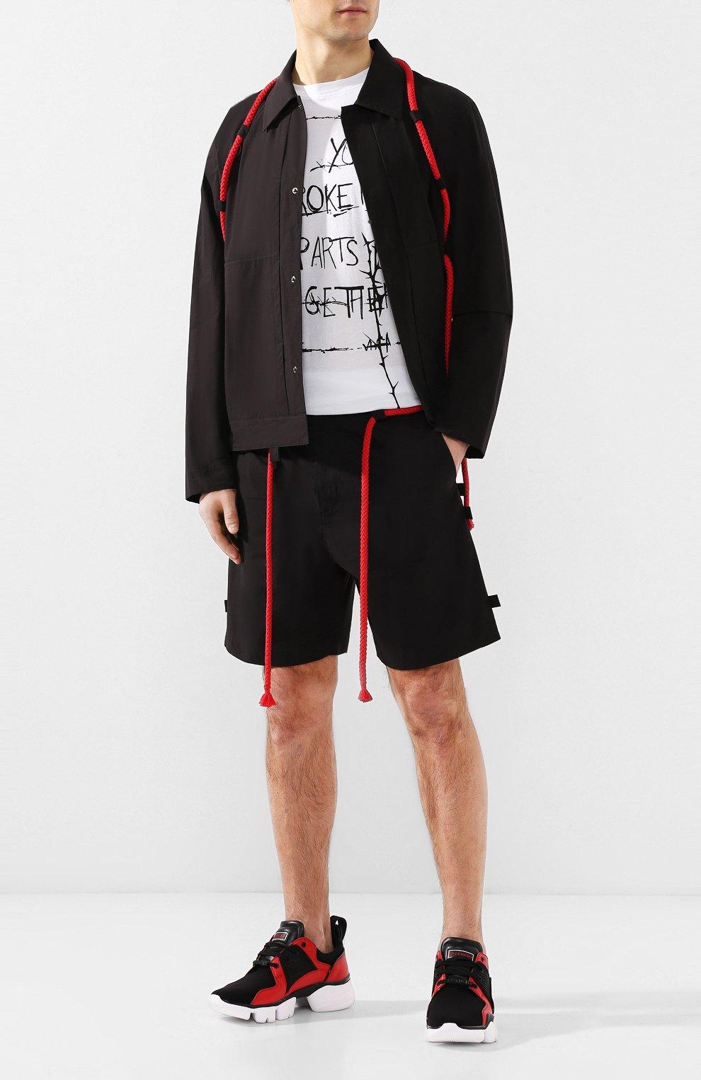 Хлопковые шорты Craig Green черные | Фото №2