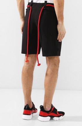 Хлопковые шорты Craig Green черные | Фото №4