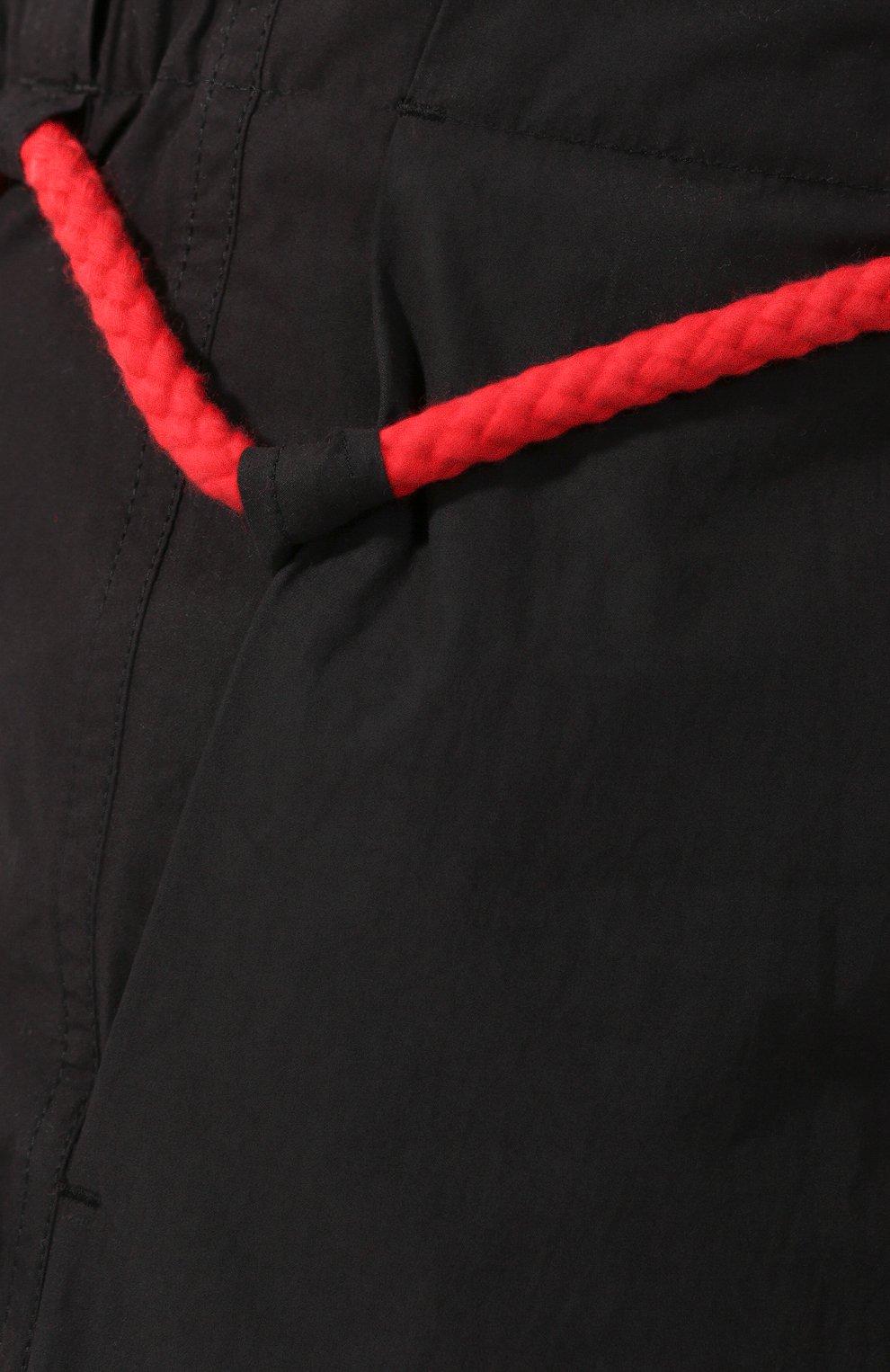 Хлопковые шорты Craig Green черные | Фото №5