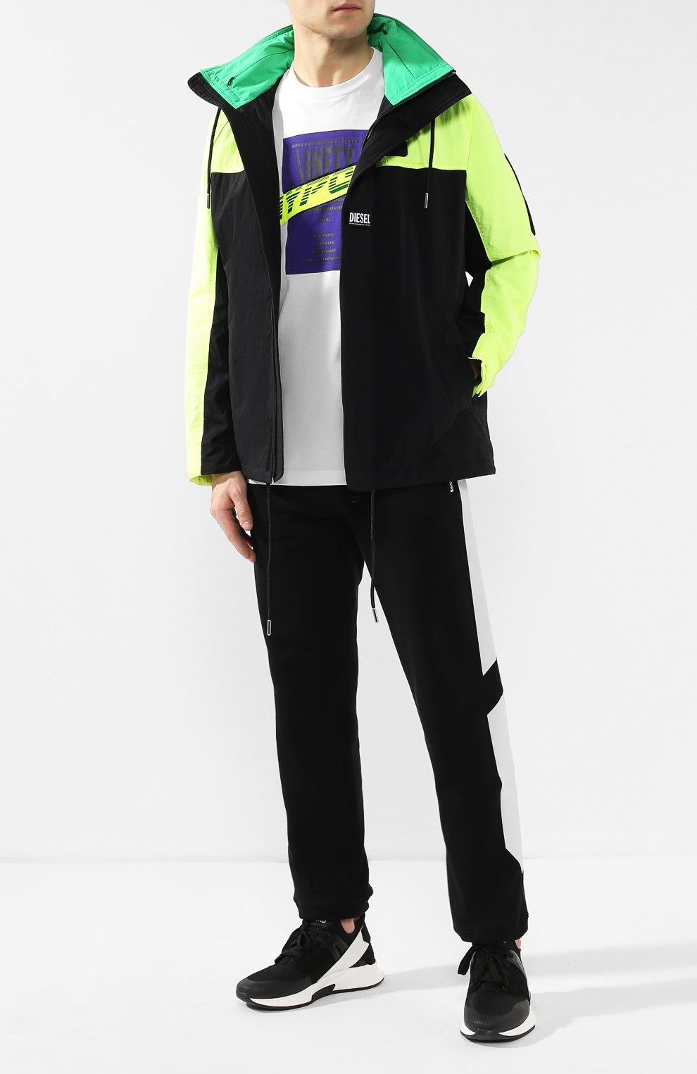 Куртка Diesel черная   Фото №2