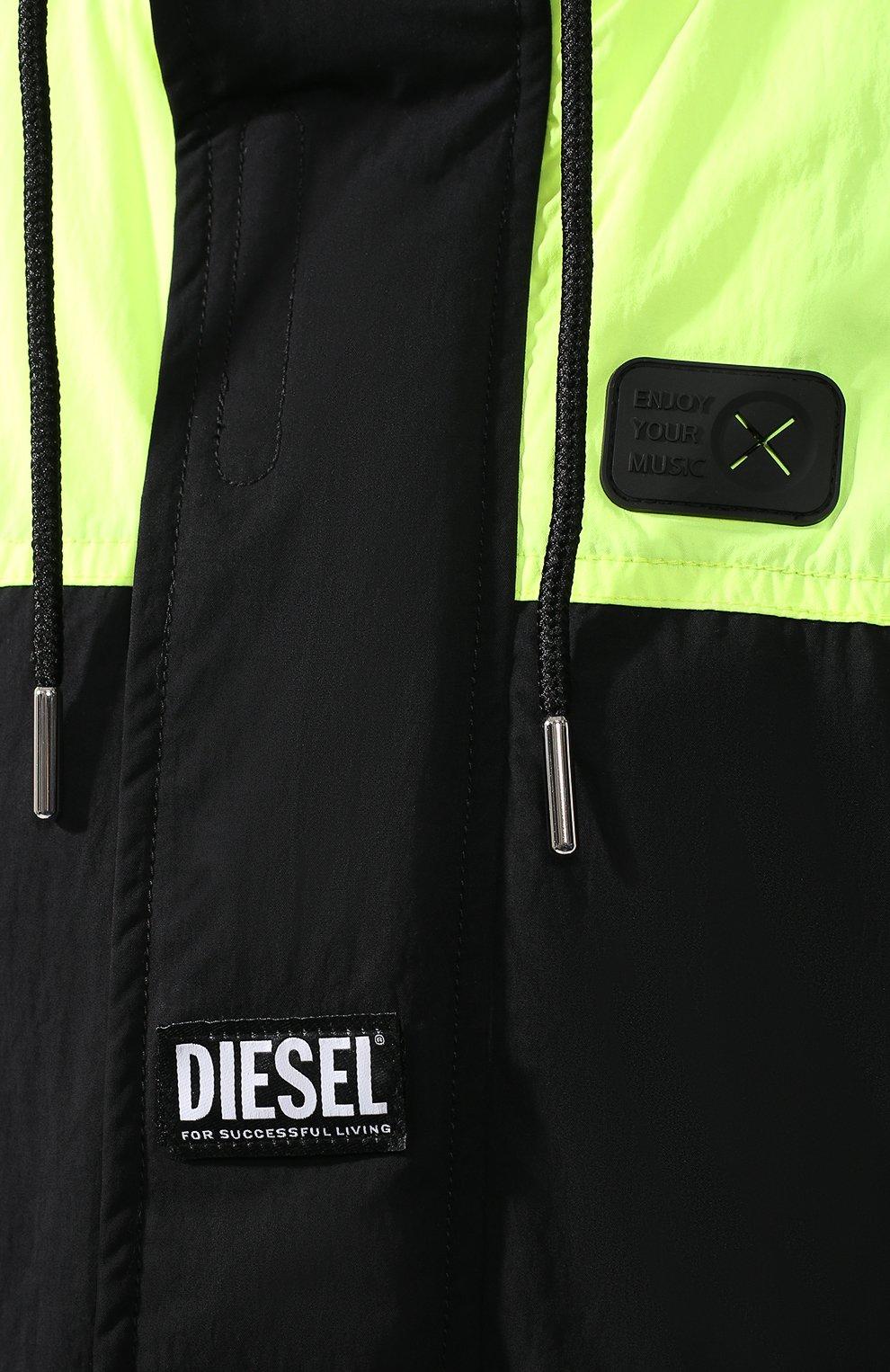 Куртка Diesel черная   Фото №5
