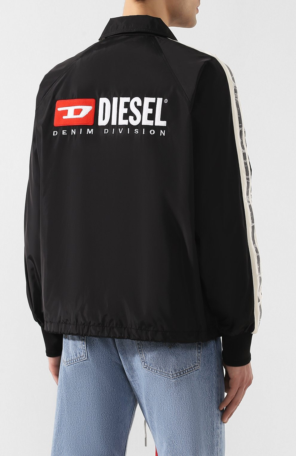 Куртка Diesel черная | Фото №4