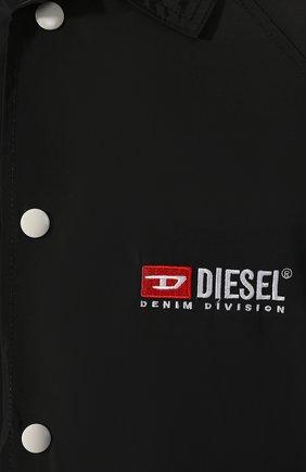 Куртка Diesel черная | Фото №5