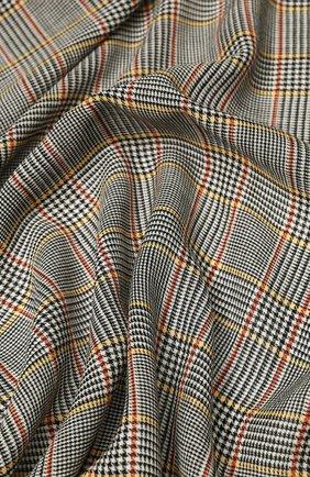 Мужской шерстяной платок GUCCI разноцветного цвета, арт. 572419/4G059 | Фото 2