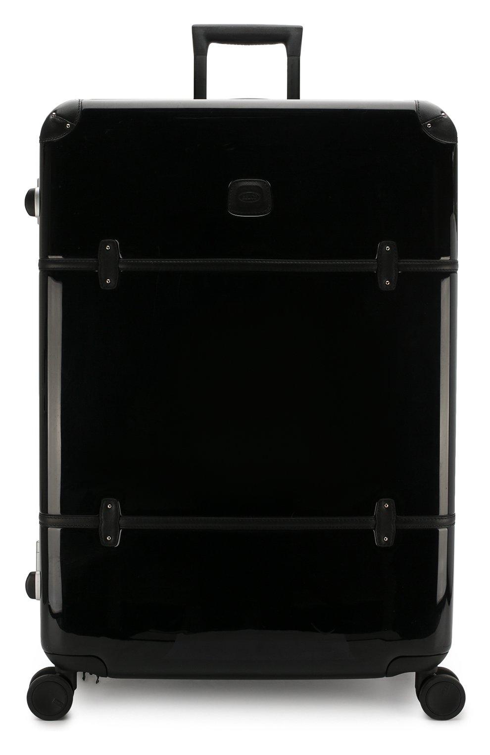 Женский дорожный чемодан bellagio extra large BRIC`S черного цвета, арт. BBG 28505 | Фото 4
