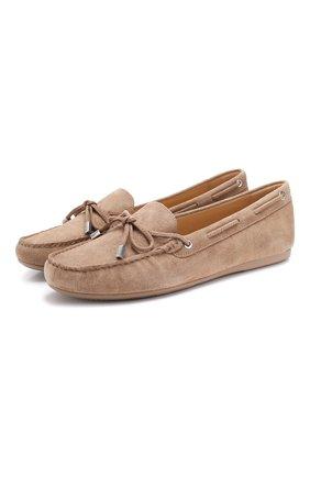 Замшевые мокасины Sutton на шнуровке | Фото №1