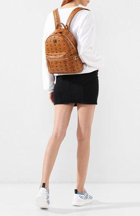 Женский рюкзак stark MCM коричневого цвета, арт. MMK 6SVE37 | Фото 2