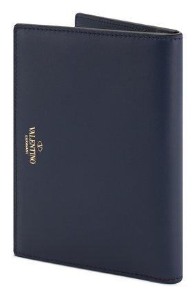 Женские кожаная обложка для паспорта valentino garavani vltn VALENTINO темно-синего цвета, арт. RW2P0R29/RCH | Фото 2