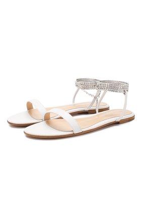 Кожаные сандалии Serena  | Фото №1