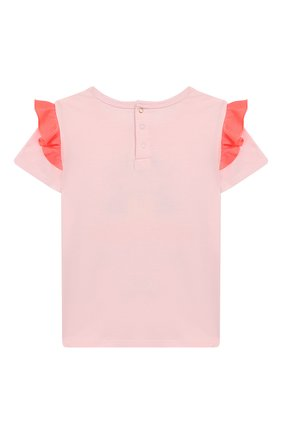 Детский футболка с принтом MARC JACOBS (THE) розового цвета, арт. W05248/2A-3A | Фото 2