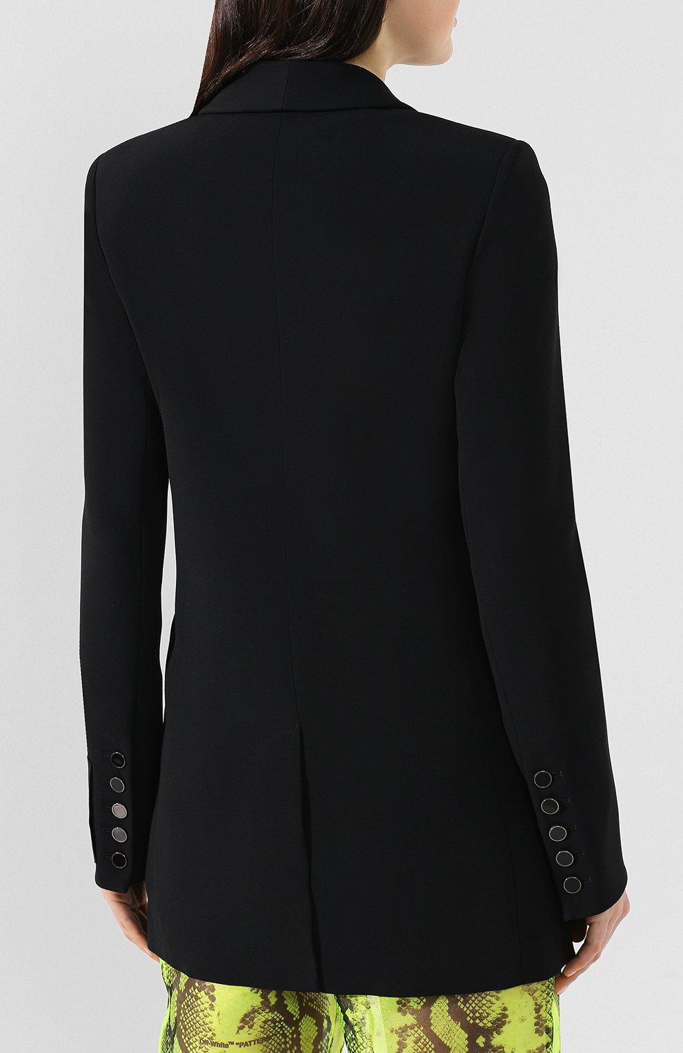 Жакет Off-White черный | Фото №4