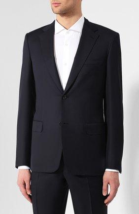 Мужской шерстяной костюм BRIONI темно-синего цвета, арт. RAI30V/PZA18/PARLAMENT0 | Фото 2