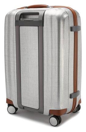 Женский дорожный чемодан lite cube medium SAMSONITE серебряного цвета, арт. 82V-08003   Фото 2