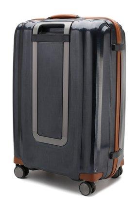 Женский дорожный чемодан lite cube large SAMSONITE синего цвета, арт. 82V-01004   Фото 2