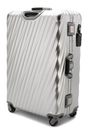 Женский дорожный чемодан 19 degree aluminum TUMI серебряного цвета, арт. 036869SLV2 | Фото 2