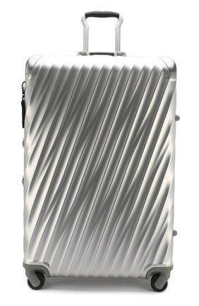 Женский дорожный чемодан 19 degree aluminum TUMI серебряного цвета, арт. 036869SLV2   Фото 4 (Статус проверки: Проверено, Проверена категория; Размер: large; Ограничения доставки: oversized)