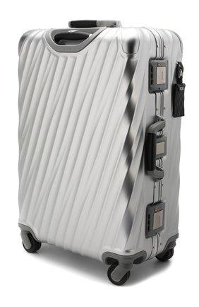 Женский дорожный чемодан 19 degree aluminum TUMI серебряного цвета, арт. 036864SLV2 | Фото 2