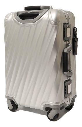 Женский дорожный чемодан 19 degree aluminum TUMI серебряного цвета, арт. 036860SLV2 | Фото 2