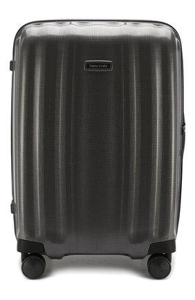 Женский дорожный чемодан lite cube medium SAMSONITE серого цвета, арт. 82V-28003 | Фото 1