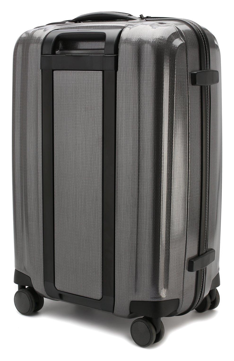Женский дорожный чемодан lite cube medium SAMSONITE серого цвета, арт. 82V-28003   Фото 2 (Размер: medium; Статус проверки: Проверено, Проверена категория; Ограничения доставки: oversized)