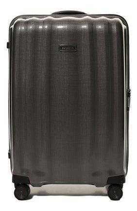 Женский дорожный чемодан lite cube large SAMSONITE серого цвета, арт. 82V-28004 | Фото 1