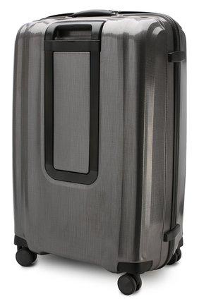 Женский дорожный чемодан lite cube extra large SAMSONITE серого цвета, арт. 82V-28005 | Фото 2 (Статус проверки: Проверено, Проверена категория; Ограничения доставки: oversized; Размер: large)